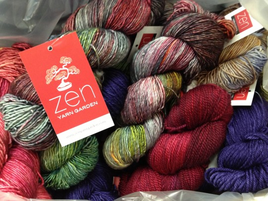 and today the zen yarn garden shipment arrived - Zen Yarn Garden